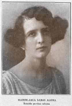 Mariblanca Sabás Alomán en Madrid, 23 de marzo de 1929.